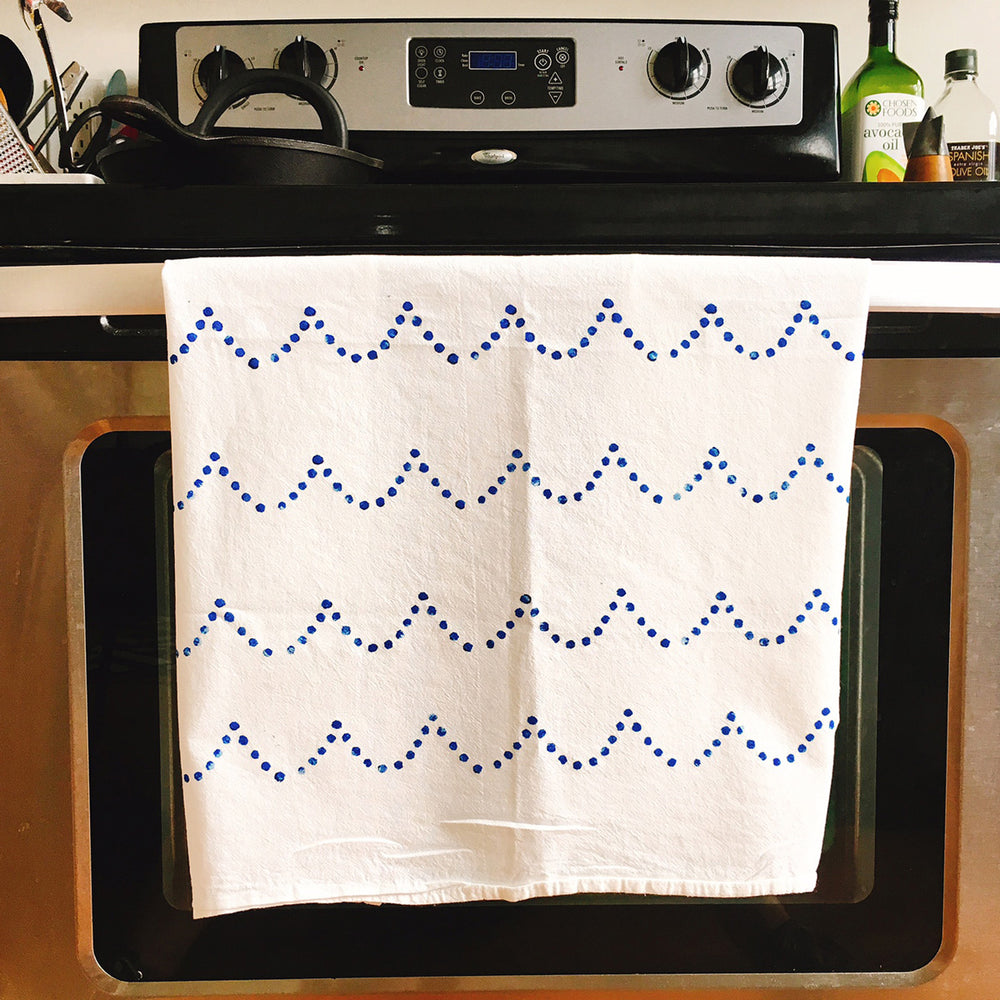 Tidal Kitchen Towels