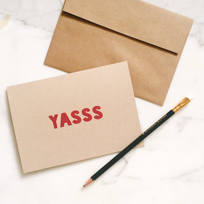 YASSS - Greeting Card
