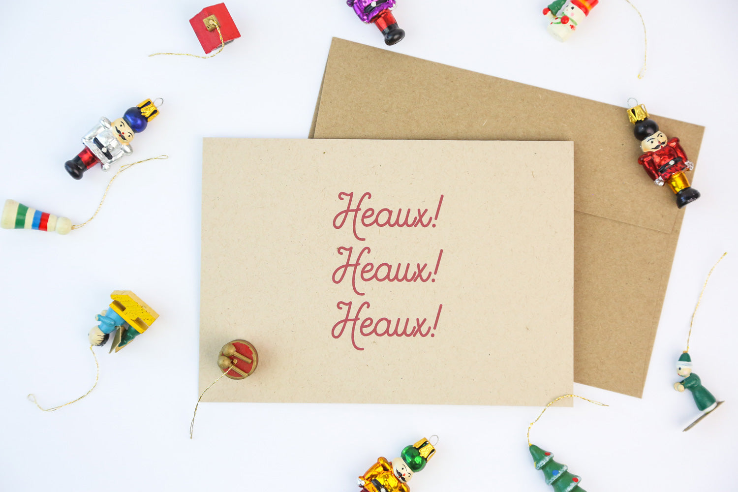 Heaux Heaux Heaux - Holiday Cards