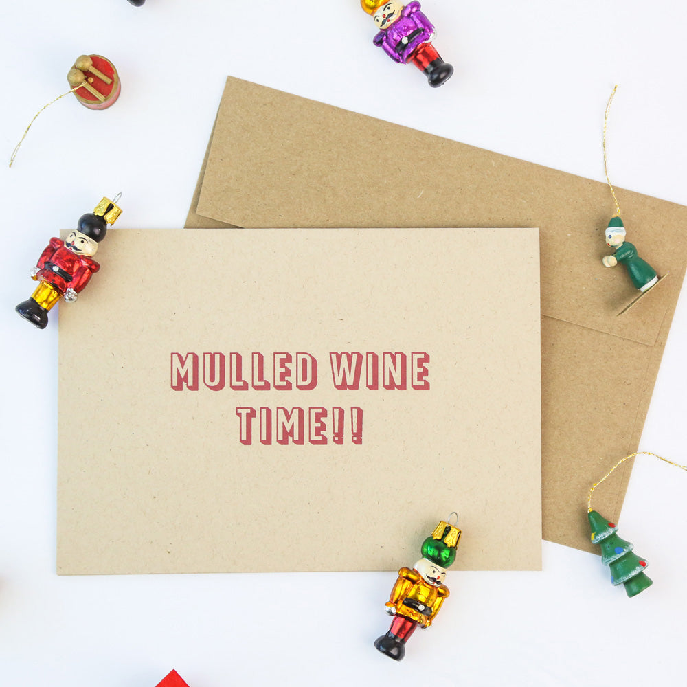 Mulled wine time - Holiday Cards