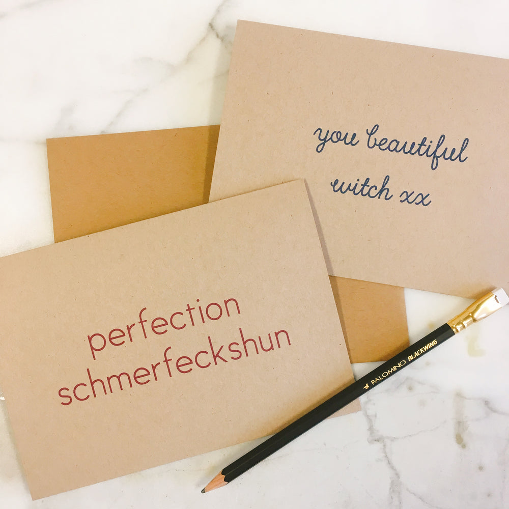 You beautiful witch xx - Greeting Card