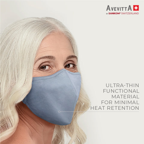 Avevitta Protect 2.0 Anti-Virus Nano Technology Mask - Grey