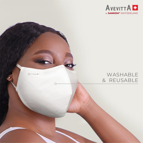Avevitta Protect 2.0 Anti-Virus Nano Technology Mask - Black