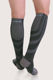SANKOM MEN PATENT HYPOALLERGENIC COMPRESSION SOCKS - GREY