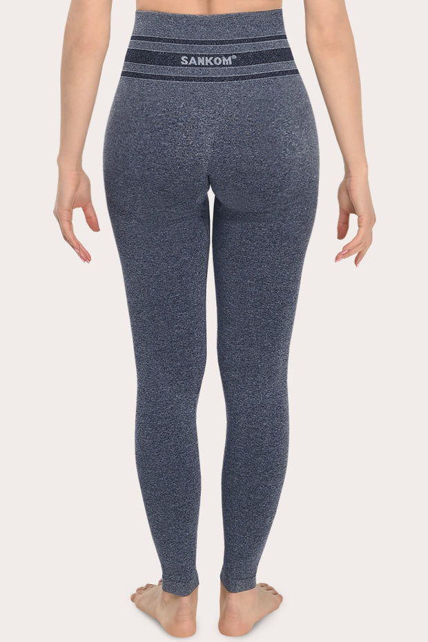 SANKOM PATENT ACTIVEWEAR LEGGINGS - GREY MELANGE