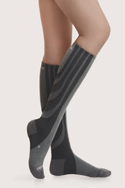 SANKOM PATENT ACTIVE COMPRESSION SOCKS - GREY