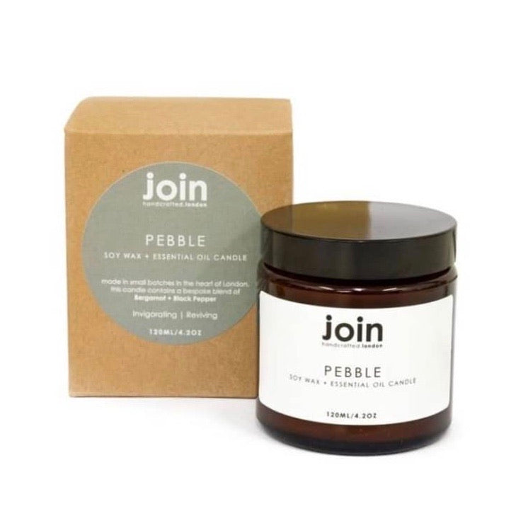Pebble Soy Wax Candle 120ml