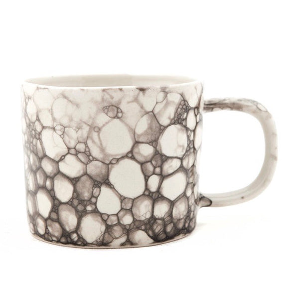 Black and White Ceramic Handmade Mug