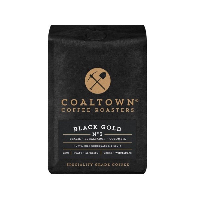 Ground coffee from Coaltown Coffee