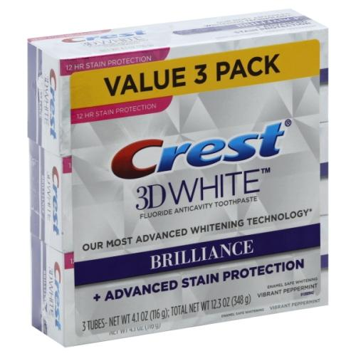 Crest brilliance ADVANCE stain protection (116g)