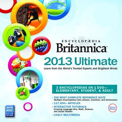 Britannica 2013 Ultimate DVD