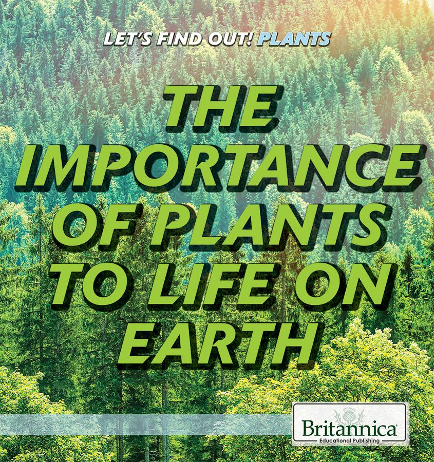 The Importance of Plants to Life on Earth