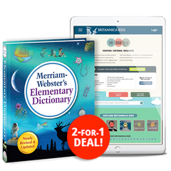 Kids Bundle: Merriam-Webster's Elementary Dictionary Bundle & Britannica Kids Subscription