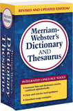 Merriam-Webster's Dictionary and Thesaurus (Mass-market paperback)