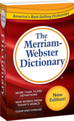 The Merriam-Webster Dictionary (Mass-market paperback)