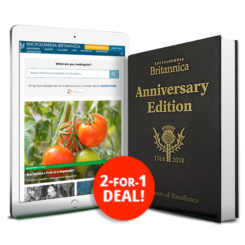 Britannica 250th Anniversary Book & Britannica Subscription Bundle