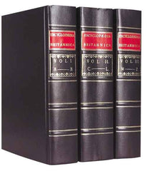 1768 Encyclopaedia Britannica Replica Set