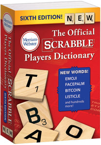Merriam-Webster: The Official SCRABBLE® Players Dictionary, Sixth Edition (Mass-market paperback)