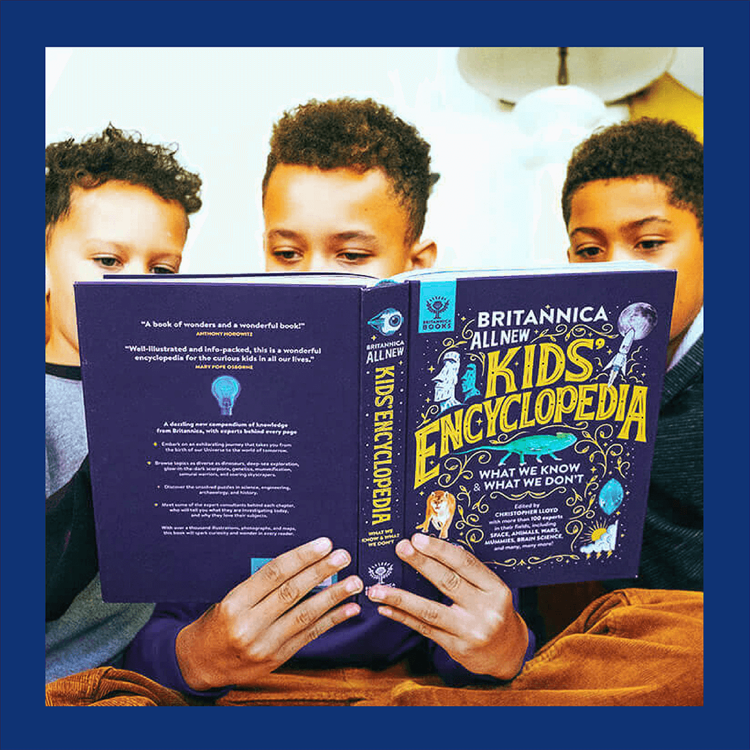 Britannica Kids + Book Bundle