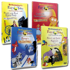Britannica's Fairy Tales From Around  the World (4-Disc DVD Set)
