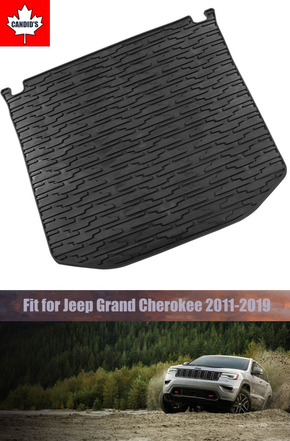 Rear Cargo Mat Liner Compatible For 2011-2019 Grand Cherokee All Weather Protection Floor Slush Mat