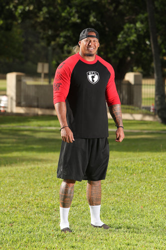 BFL Shield Raglan Tee - Barefoot League