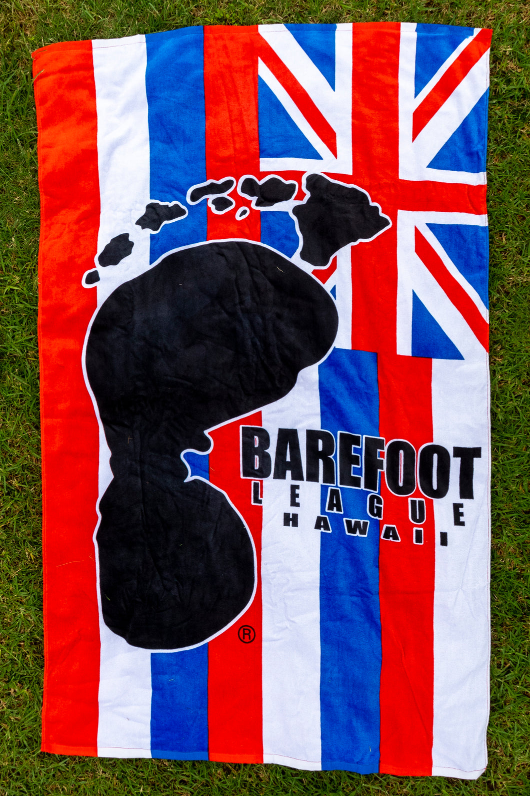 Barefoot League Beach Towel