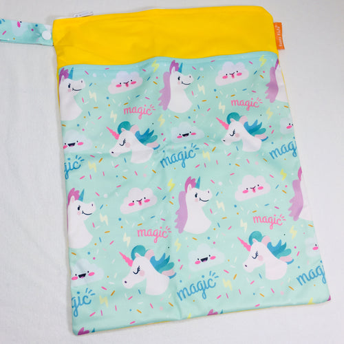Happy Flute Travel Wet Bag - Unicorn Magic