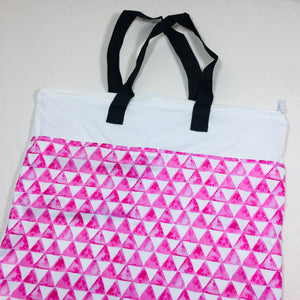 Hanging Bag - Pink Pyramid