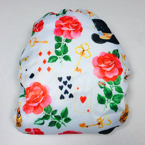 Elf Diaper Cover - Mad Hatter