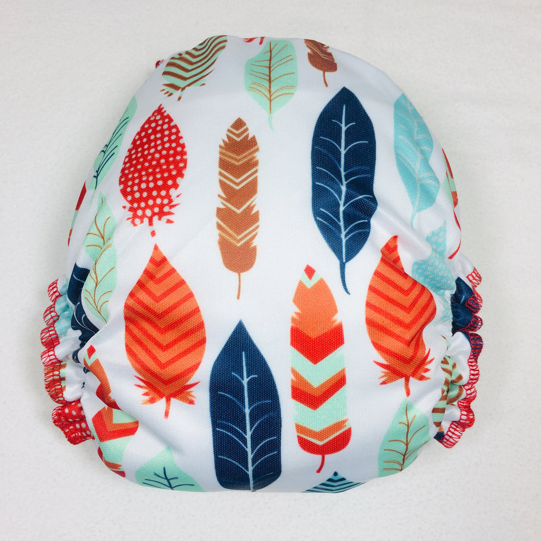 Elinfant Hybrid Fitted - Wild Feathers