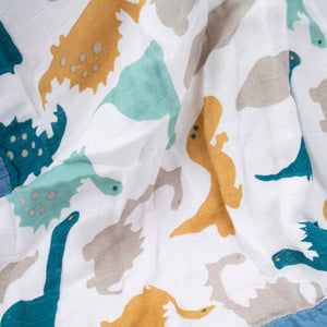 4 Layer Blanket - Dancing Dinos