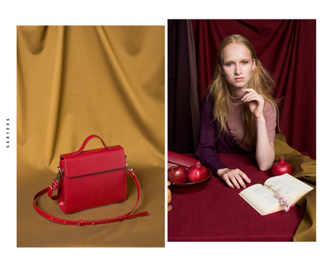 ILONKA Handbag -  Dark Red