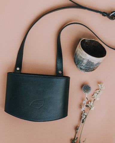 POCI Crossbody Bag - Midnight Black