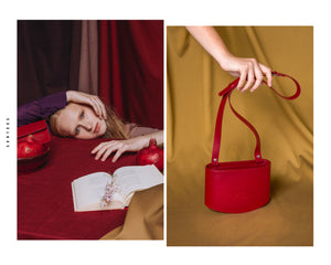 POCI Crossbody Bag -  Dark Red