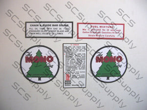 "Mono 2.5"" Dia. Tree Logo decal set"