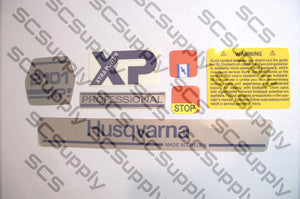 Husqvarna 2101XP (early) decal set