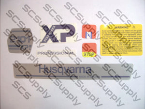 Husqvarna 2101XP (late) decal set