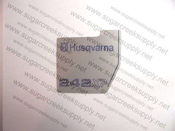 Husqvarna 242XP flywheel decal