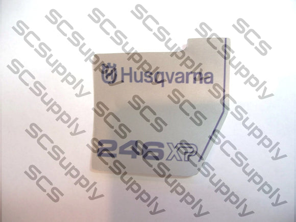 Husqvarna 246XP flywheel decal