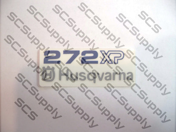 Husqvarna 272XP airbox decal