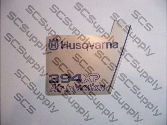 Husqvarna 394XP (ver 1) flywheel decal