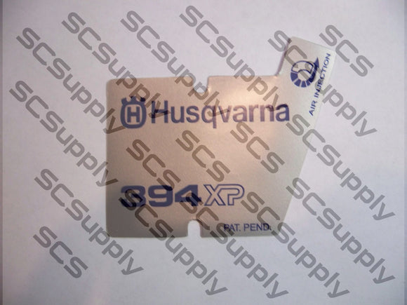Husqvarna 394XP (ver 2) flywheel decal