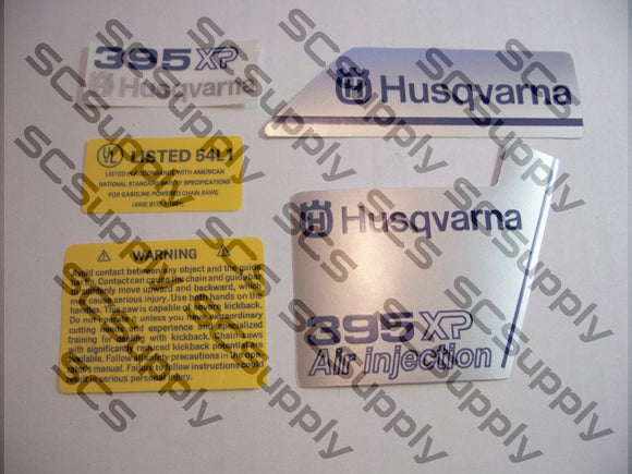 Husqvarna 395XP (version 1) decal set