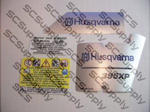 Husqvarna 395XP (version 3) decal set