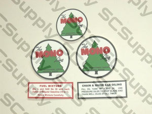 "Mono ""3 Tree"" Logo decal set"