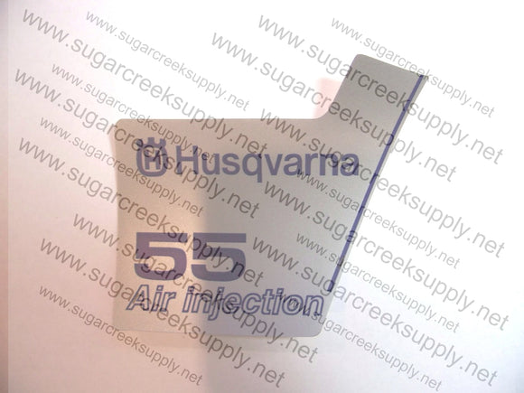 Husqvarna 55(orange top) starter cover decal