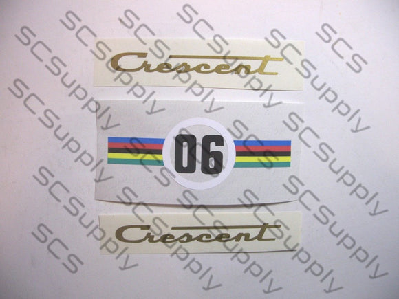 Crescent 06 decal set