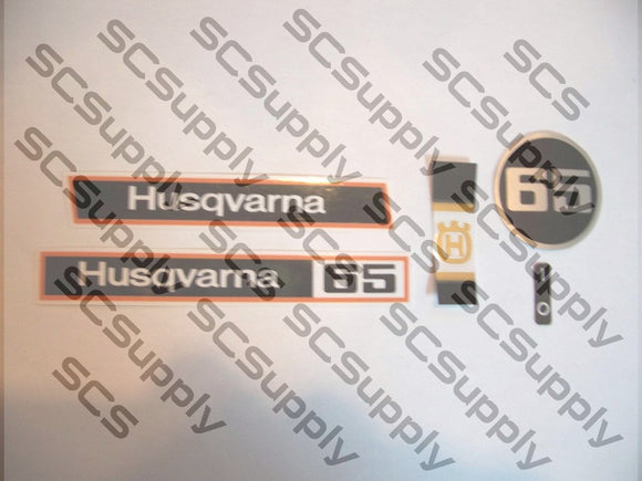 Husqvarna 65 decal set