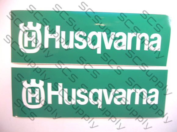 Husqvarna bar stencil set